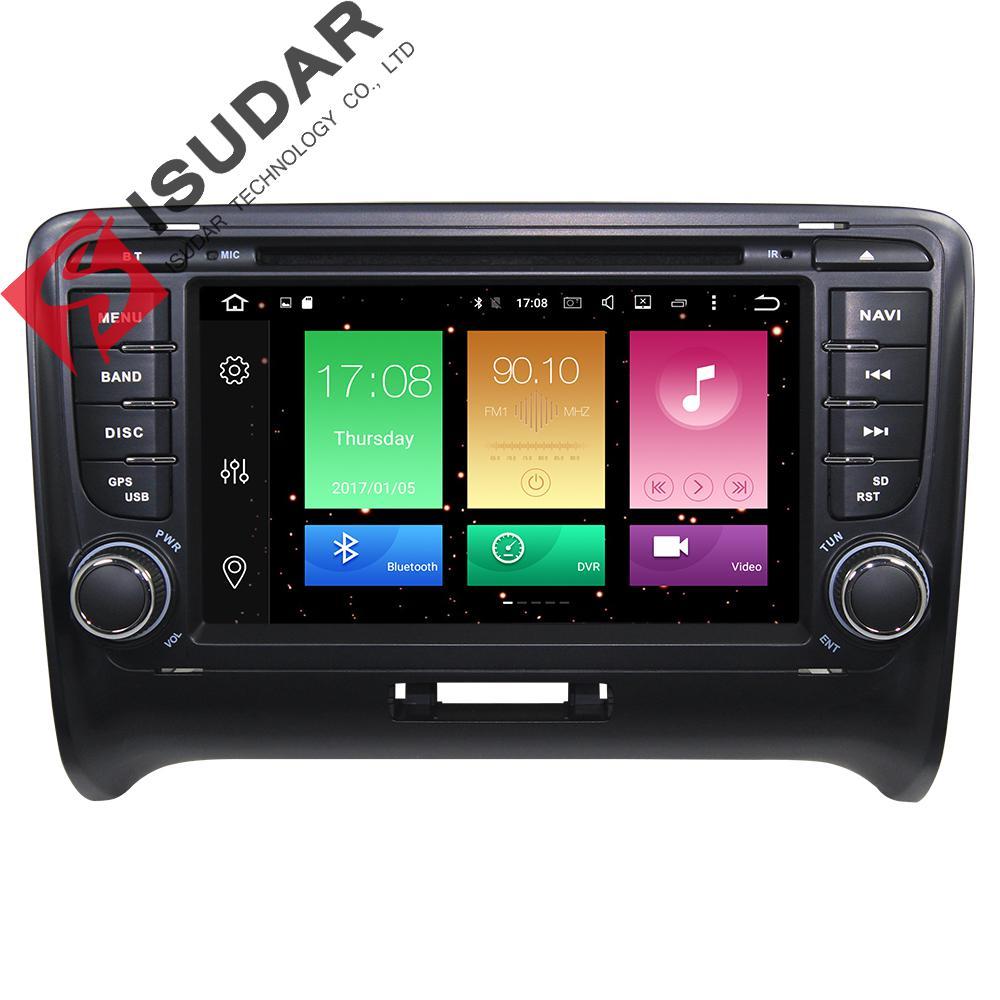 imágenes para 6.0.1 Android Dos Din 7 Pulgadas de Coches Reproductor de DVD Para Audi/TT 2006-2012 Octa Núcleos 2G RAM 32G ROM 3G/4G WIFI GPS de la Radio