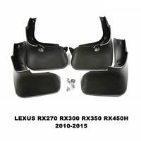 Car Mudflaps Splash Guards Mud Flap Mudguards Fender For LEXUS RX RX270 RX300 RX350 RX450H 2010 2015 Car Styling Accessories