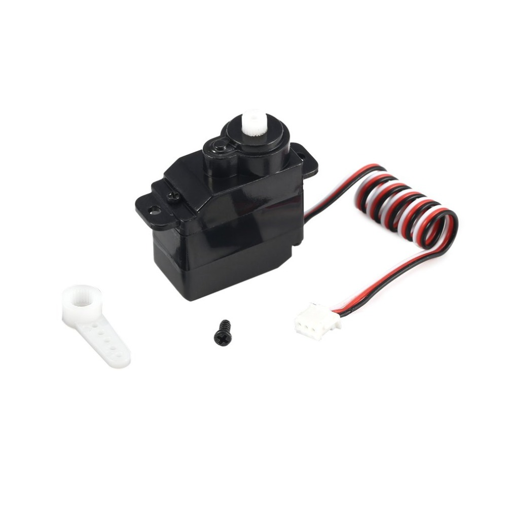 Image 5 - 7.5g Plastic Gear Analog RC Servo 4.8 6V for Wltoys V950 RC Helicopter Airplane Part Replacement Accessaries-in Parts & Accessories from Toys & Hobbies