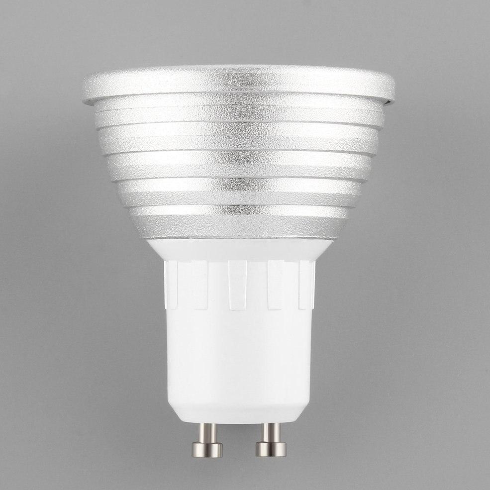 2 pièces 2 W E27 Multi couleur changement RGB lumière LED ampoule lampe avec télécommande