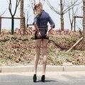 Мини-юбка сексуальный пакет ночной клуб хип Ци B маленькая юбка пердеть жесткие блестящие юбки