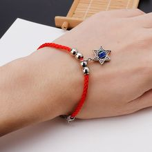 Lucky Kabbalah Red Strings Thread Fatima Hamsa Bracelets Blue Turkish Evil Eye Charm Handmade Women Friendship Jewelry