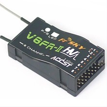 1,5 км-2,5 км Диапазон FrSky V8FR-II 2,4G 8CH приемник HV версия Fr Sky ACCST RX для RC мульти ротор FPV дроны