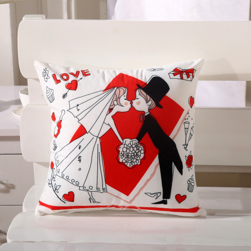 Cartoon Cushion Cover Home Sofa Hotel Decorative Pillow
