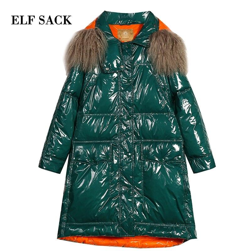 Manteau 90 Large Femmes Porter Pour Vert Solide Vestes Nouveau Blanc Sac Le Manteaux Duvet Bas De Femme Occasionnels Canard pourpre Elf taille Vers L'hiver w70xYqHap
