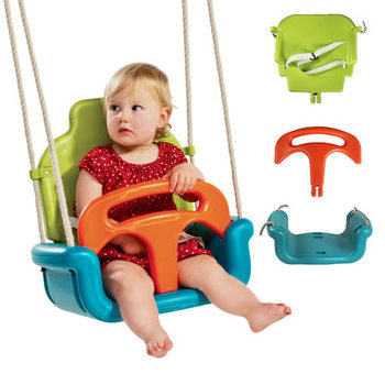 Swing Baby Indoor Home Outdoor Chair 3 in 1 Thickening Baby Swings for Children Swing Chair Toys for Children Juguetes Gifts children s toys swings for children indoor and outdoor household three in one baby swing outdoor hanging chair baby swing nest