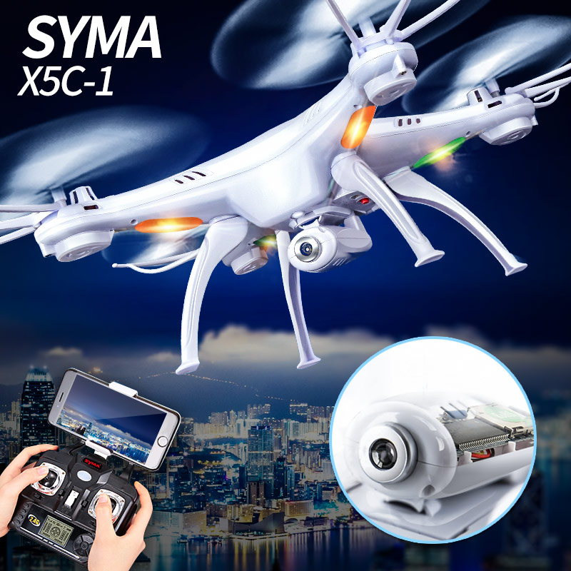 Syma X5C X5C-1 New Version Explorers Quadcopter Mode 2 With 2 Million Pixels Camera 2.4G 4CH with 6 Axis Gyro Toys Gift Present запчасти и аксессуары для радиоуправляемых игрушек no syma x 5 x5c new
