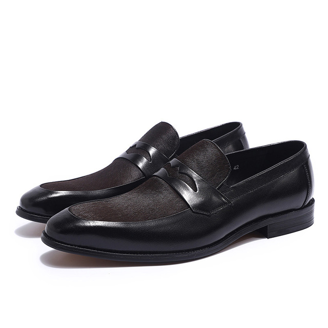 Brown Penny Loafers 1