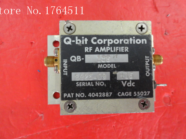 [BELLA] Q-bit QB-188 10-300MHz G:16dB Vin:15V Supply Amplifier SMA