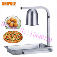 SHIPULE silver single head stand Restaurant heat lamp hotel single heat lamp warmer food heat lamp