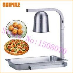 SHIPULE silver single head stand Restaurant heat lamp hotel single heat lamp warmer food heat lamp