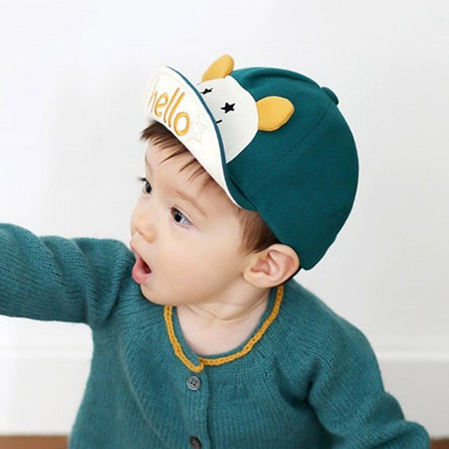 Bonjour Animal de Bande Dessinée Bébé Chapeau Enfants Casquette de baseball  Palm Mignon bébé Garçon Fille 879ab38c007