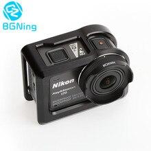 Защитный чехол кулер рамки крепление для Nikon KeyMission 170 действие камера KEY170 аксессуар Защитный охлаждения жесткий в виде ракушки