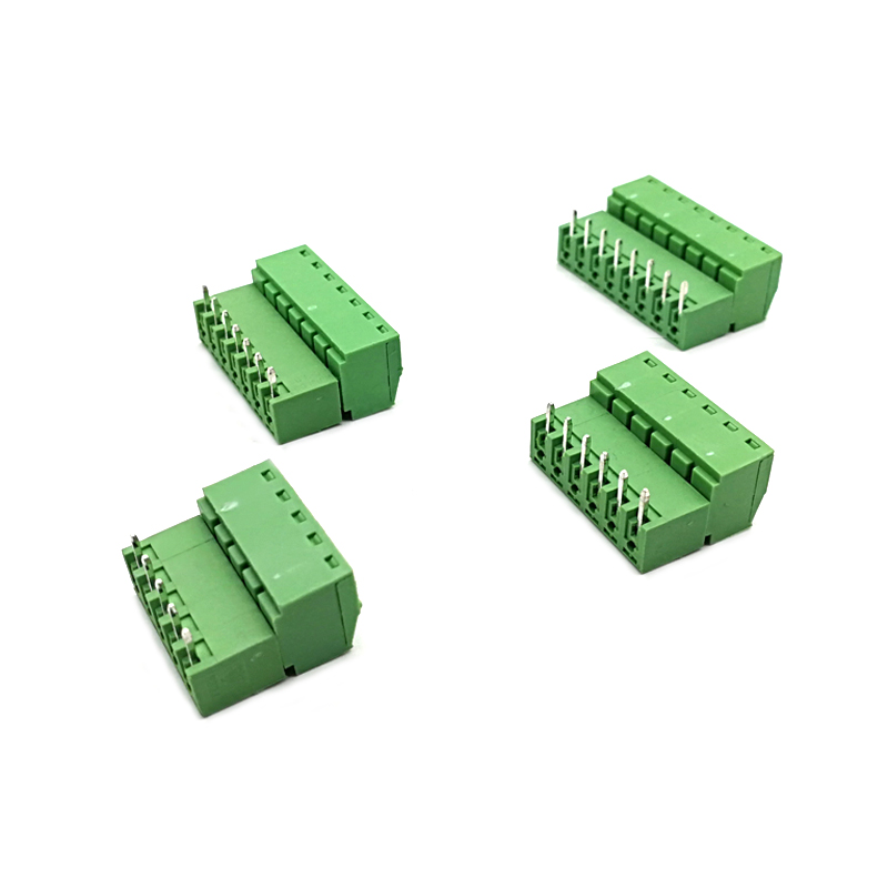 PHOENIX MALE CONNECTOR HEADER RIGHT ANGLE 10 POSITION ***NEW*** Qty 4