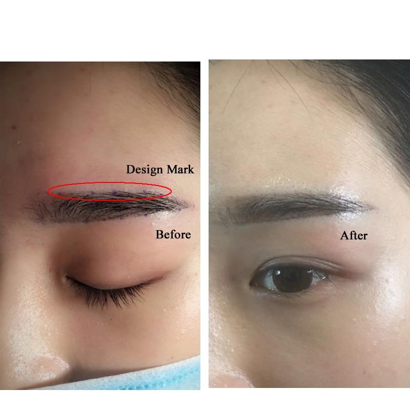 2 Pcs Eyebrow Tattoo Microblading Mark Remover Cream For