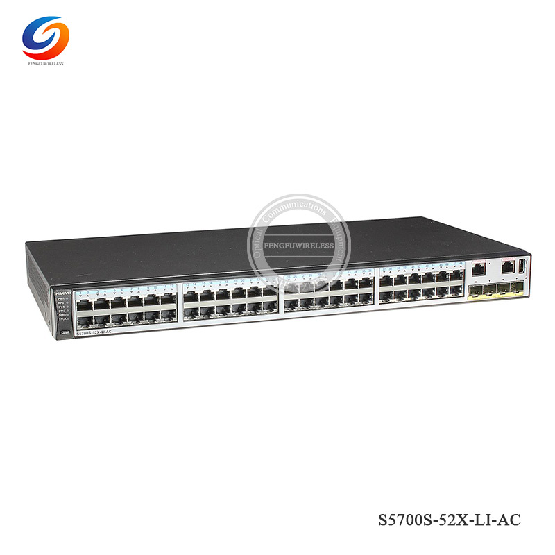 Snmp Responsible Original And New Hua Wei S5700s-52x-li-ac 48 Port Gigabit Switch Lacp Qos Stackable Vlan Support