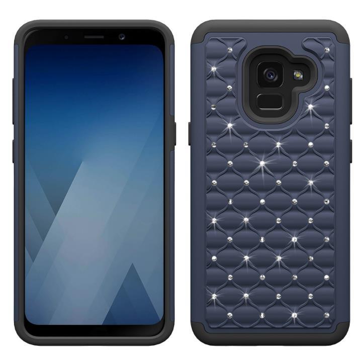 DOYAEL Luxury Bling Diamond Phone Case For Samsung Galaxy S8 Plus PC Anti-knock Back Cover Case