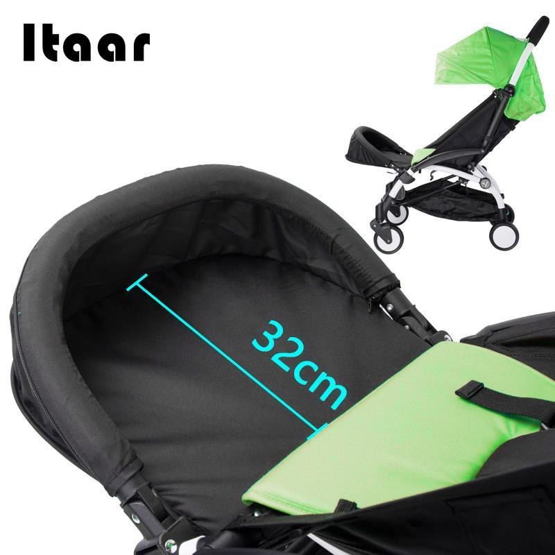 Mother & Kids Generic Baby Stroller Footrest 32cm Bumper Toddler Baby Stroller Booster Feet Infant Baby Stroller Foot Dragging