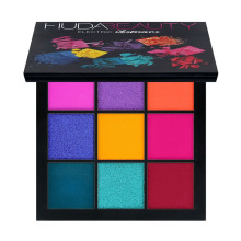 цена Hudas Beauty Makeup PALETTE ELECTRIC Eyeshadow Pallete 9 Colors Matte Glitter Eyeshadow Earth Tone Maquiagem Profissional в интернет-магазинах