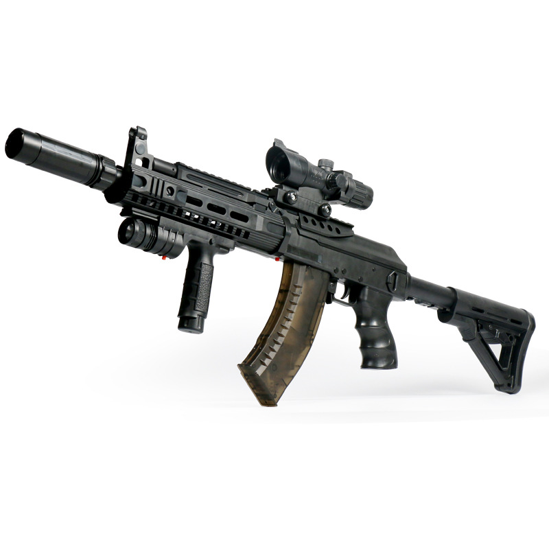 Игрушечный пистолет оружие AK-15 электрический пистолет игрушки Дети джунгли подал войсковой Пейнтбольная вода пули пушки бластер Мальчики ...