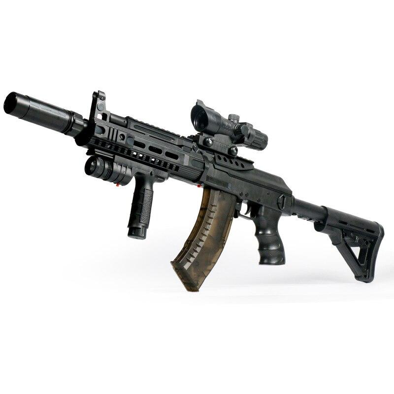 Pistolet jouet D'armes AK-15 Pistolet Électrique Jouets Enfants Jungle Déposées Troupe Paintball D'eau Balles Guns Blaster Garçons CS Jouets Cadeau
