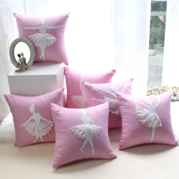 Sweet Princess Ballerina Cushion Cover