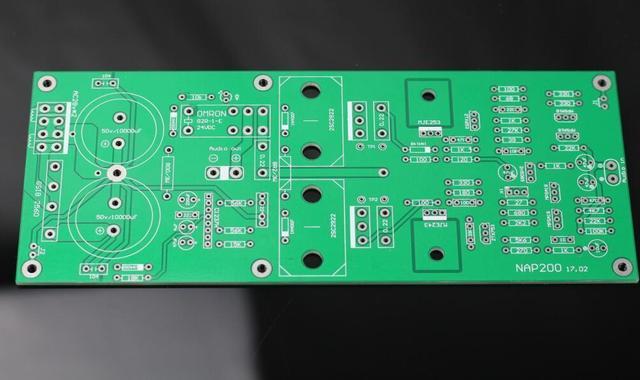 ZEROZONE un par NA-2 placa amplificadora de potencia PCB desnudo Base en Naim NAP200 Amp ( 2 canales)