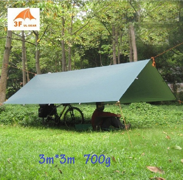 3F UL Gear UV 210T 33m Beach Sun Shelter Coast Pergola Fishing Awning