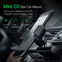 Car Phone Mount CD Slot Car Phone Holder Cellphones & Telecommunications