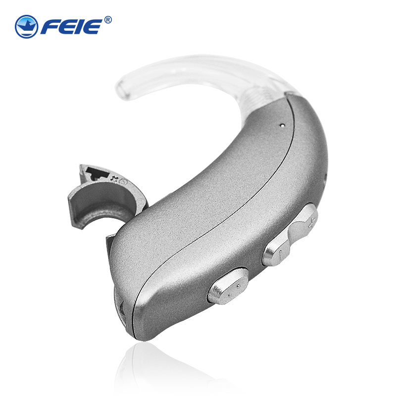 6-CH Mini Hearing Aid Aids for the Elderly Super Power Digital Wireless BTE Severe Profound Loss Sound Amplifiers MY-22 Dropship