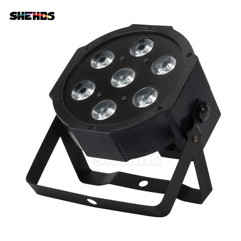 Factory Outlet LED 7x18W RGBWA+UV Par Light Wash Zoom Lyre 6in1 Stage Lamp For Disco Dj Bar Weeding Host