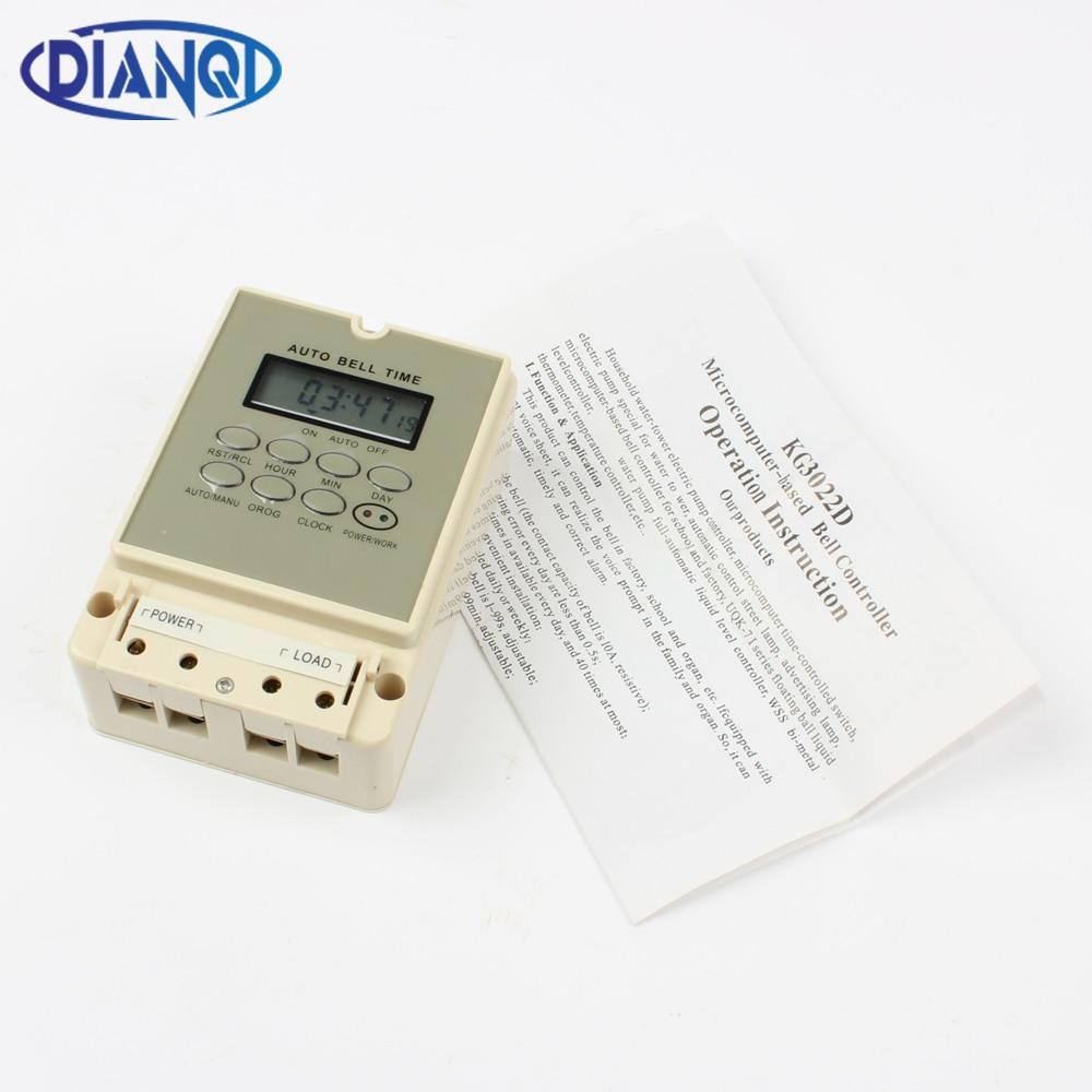 Verantwortlich Dsk-20 Kg3022d Automatische Glocke Ring Instrument Elektronische Glocke Gerät Timer Schalter Messung Und Analyse Instrumente