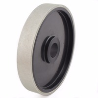 6 Inch Grit 46 2000 Coarse To Fine Lapidary Diamond Grinding Wheel Coated Cabbing Disk With