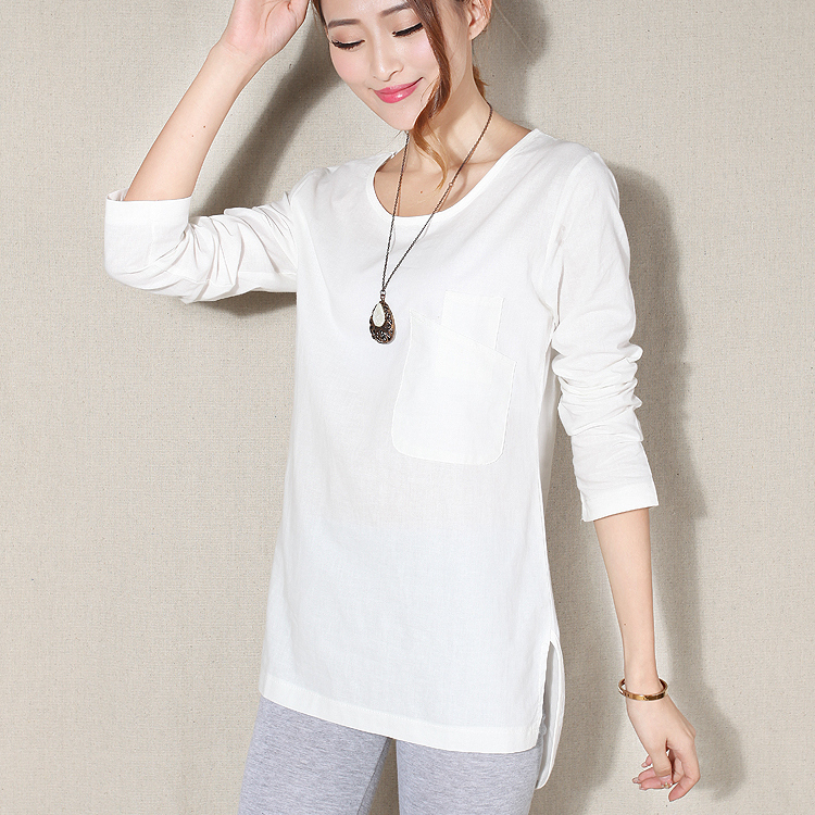 Long White Shirts For Ladies