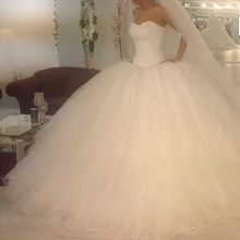 La MaxPa Luxury Custom Made Ball Gown Wedding Dress