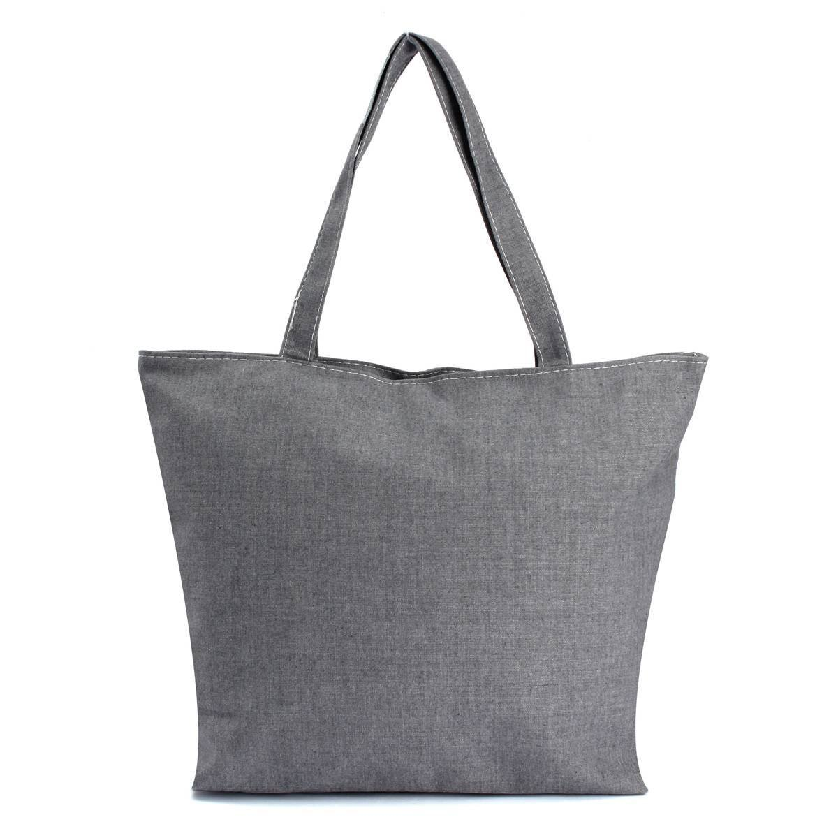 Canvas Shopping Bags with Zips Promotion-Shop for Promotional ...