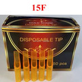 15F Yellow Tattoo Tips 100pcs Top Quality Disposable Plastic Tip Tubes For Tattoo Machine Supply Free Shipping