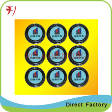 Customized  Colorful custom made cap stickers