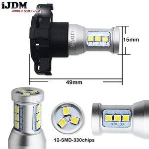 Image 3 - Ijdm canbus py24w lâmpadas de led, para bmw luzes de seta dianteira, fit e90/e92 3 séries, f10/f07 5 series, e83/f25 x3 e70 x5 e71 x6
