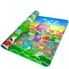 Детский игровой коврик для детей развивающий из пенополиуретана
