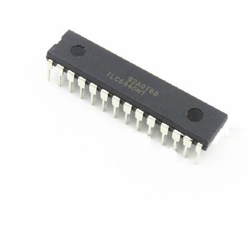 2 PCS IC LED DRIVER PWM CONTROL 28-DIP TLC5940NT TLC5940 NEW