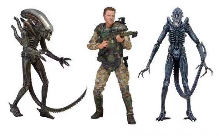 ALEN nECA ALIEN Xenomorph Warrior Sergeant Craig Windrix PVC Action Figure Collectible Model Toy 18cm купить водныи велосипед craig cat
