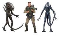 ALEN nECA ALIEN Xenomorph Warrior Sergeant Craig Windrix PVC Action Figure Collectible Model Toy 18cm