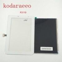 Kodaraeeo 7 0 For Samsung Galaxy Tab 2 P3100 P3110 Touch Screen Sensor Digitizer Glass LCD