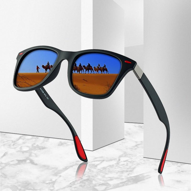 Brand Design Classic Polarized Sunglasses Men Women Driving Square Frame Sun Glasses Male Goggle Uv400 Gafas De Sol Yanaton Online Shopping