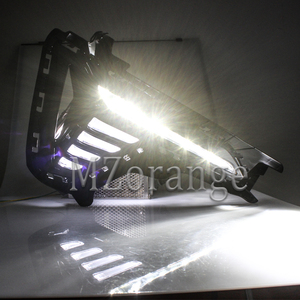 Image 5 - for Hyundai Sonata fog light 2018 2019 LED DRL headlight fog lights Daytime Running Lights Fog Lamps cover headlights fog light