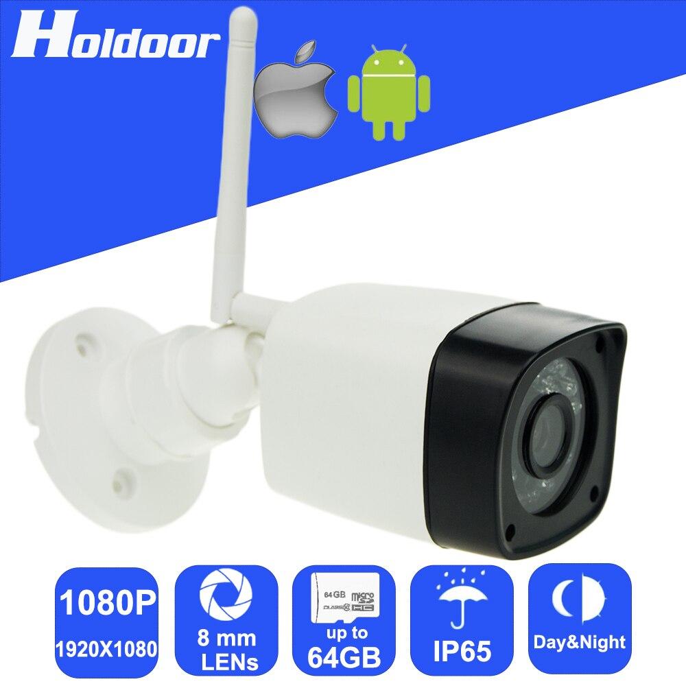 Mini Wireless IP Camera with 2.0Megapixel CMOS 8mm HD Lens IR Cut Night Vision video security surveillance micro SD card slot вешалка sheffilton стандарт 1 4 серебро перлато серый 3 штуки