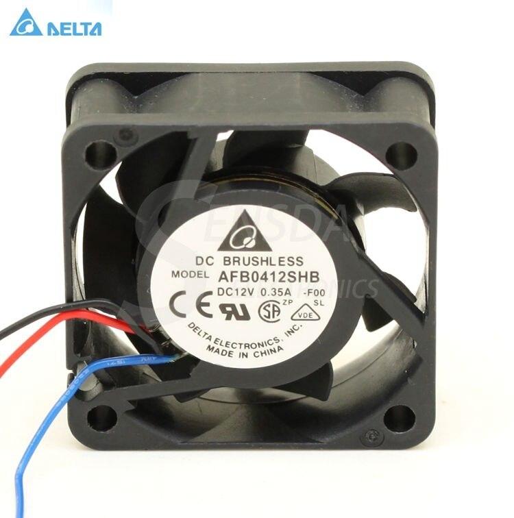 Delta AFB0412SHB 4015 4 CM 40mm 12 V 0.35A silencieux mini micro calme ordinateur cpu serveur axiale ventilateurs de refroidissement tachymètre