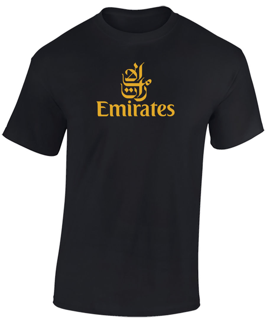 EMIRATES AIRLINES T SHIRT - AIRLINE T SHIRT - AVIATION T SHIRT - AIRLINES