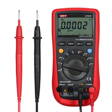 купить UT61E Digital Multimeter ESR Meter True RMS Multimeters AC/DC Voltage Current Meter Diode Circuit Continuity Capacitance Tester по цене 4421.11 рублей